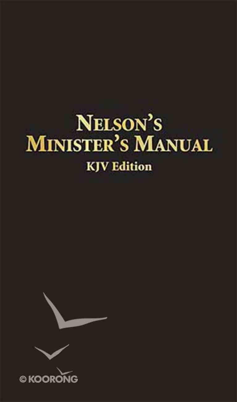 Nelson's Minister's Manual (Kjv Edition) Bonded Leather