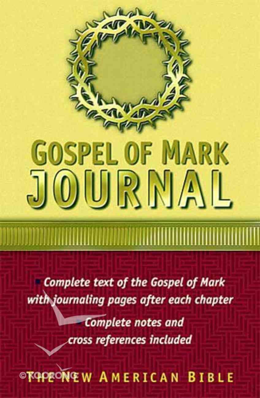 Nab Gospel of Mark Journal Hardback