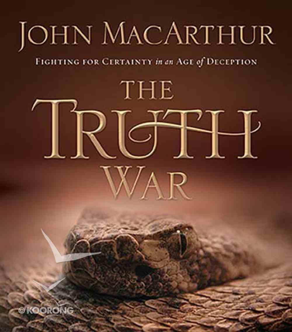 The Truth War (Abridged, 210 Mins) CD