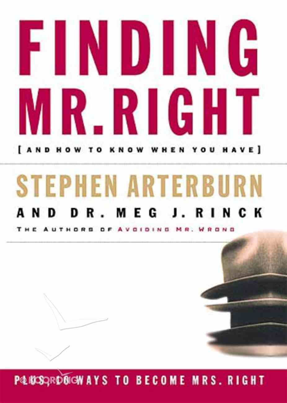 Finding Mr. Right Paperback