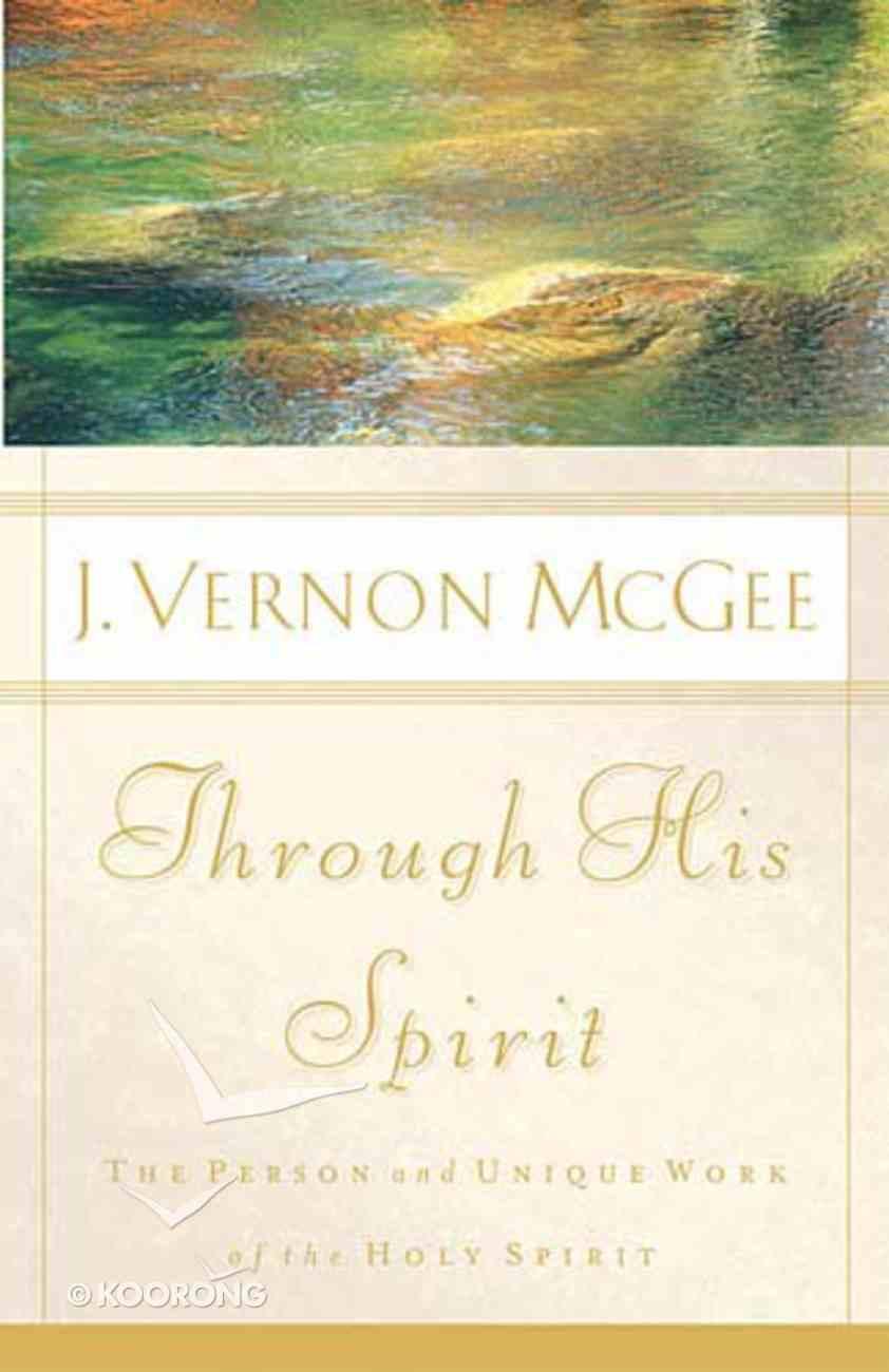 Through His Spirit Hardback