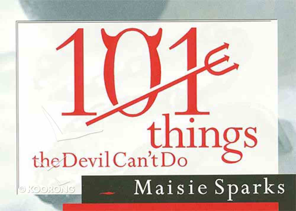 101 Things the Devil Can't Do Paperback