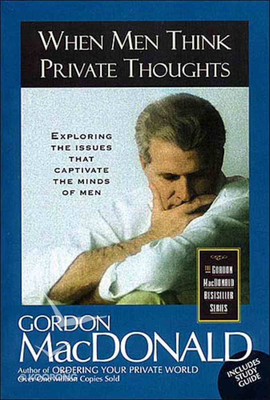 When Men Think Private Thoughts Paperback