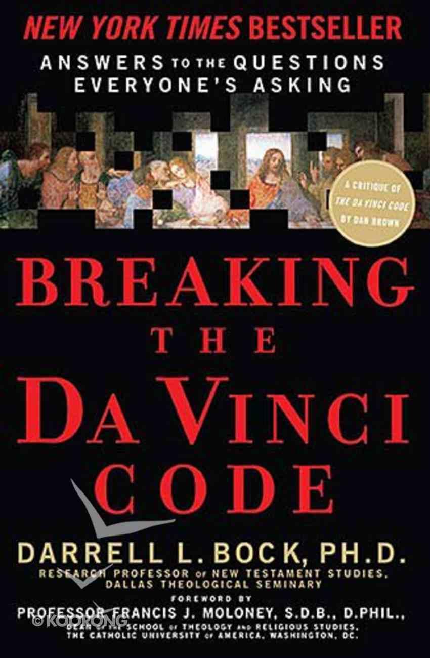 Breaking the Da Vinci Code Paperback