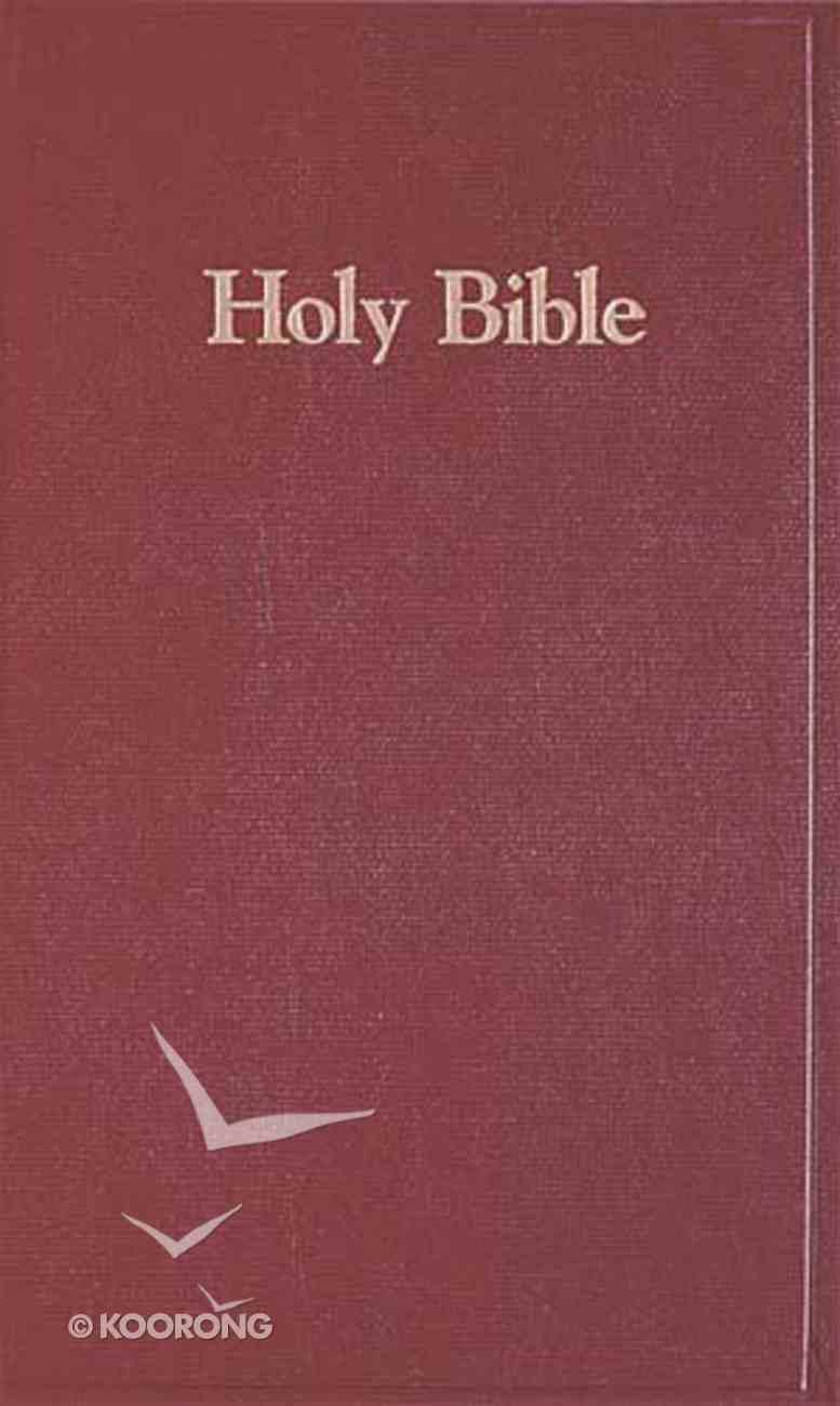 NKJV Pew Library Bible Burgundy Hardback