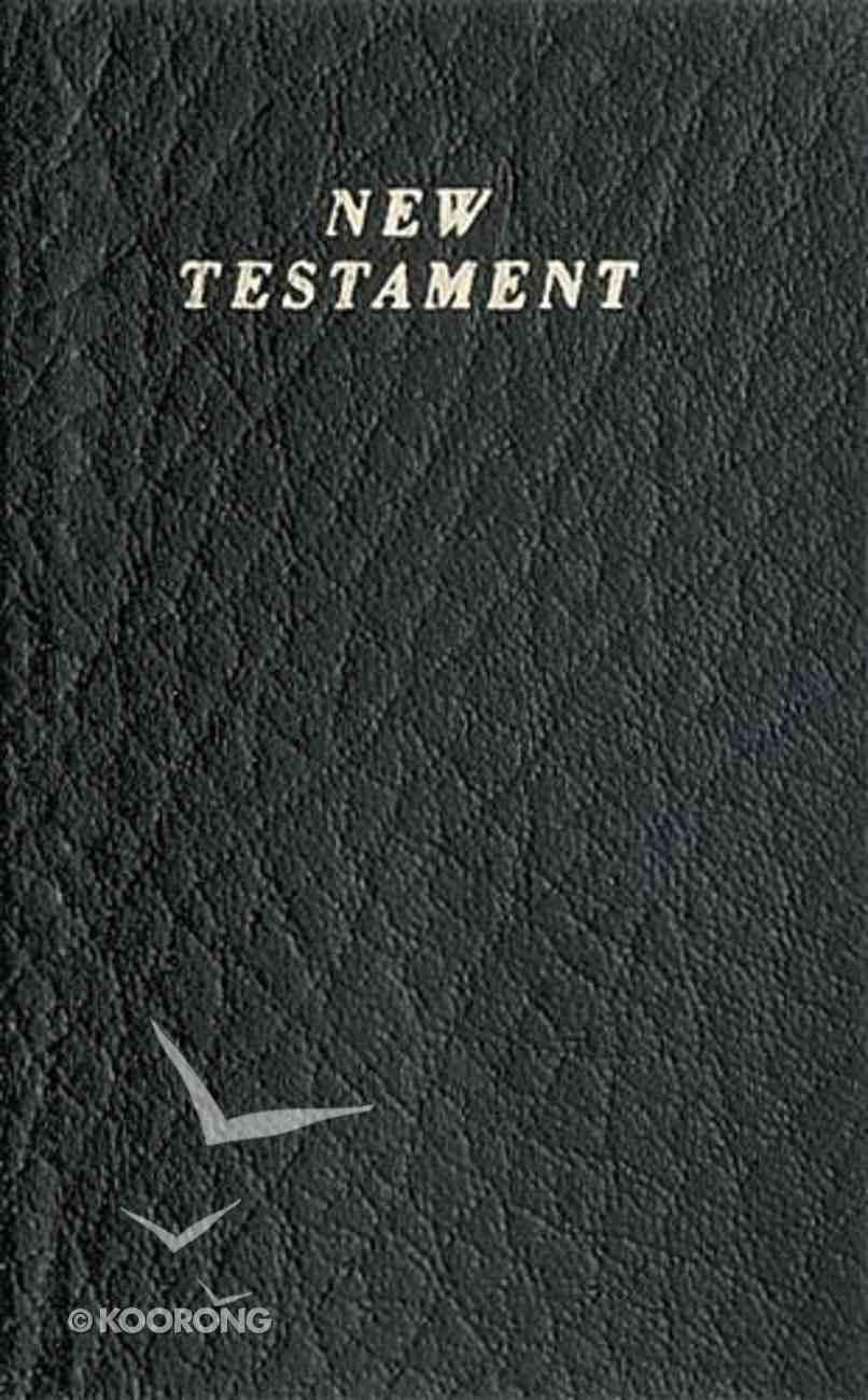 KJV Vest Pocket New Testament Black (Red Letter Edition) Imitation Leather