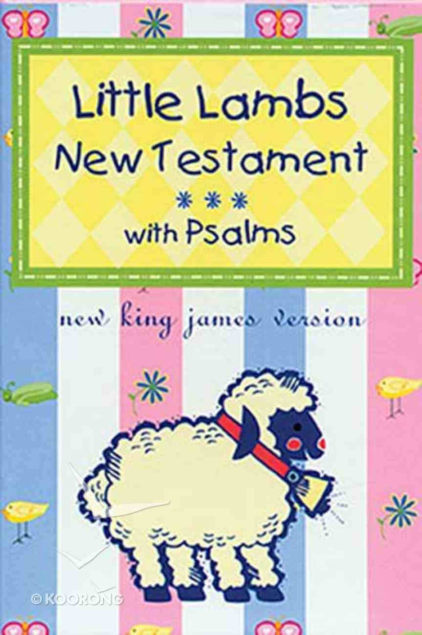 NKJV Little Lamb's New Testament & Psalms Pink Imitation Leather