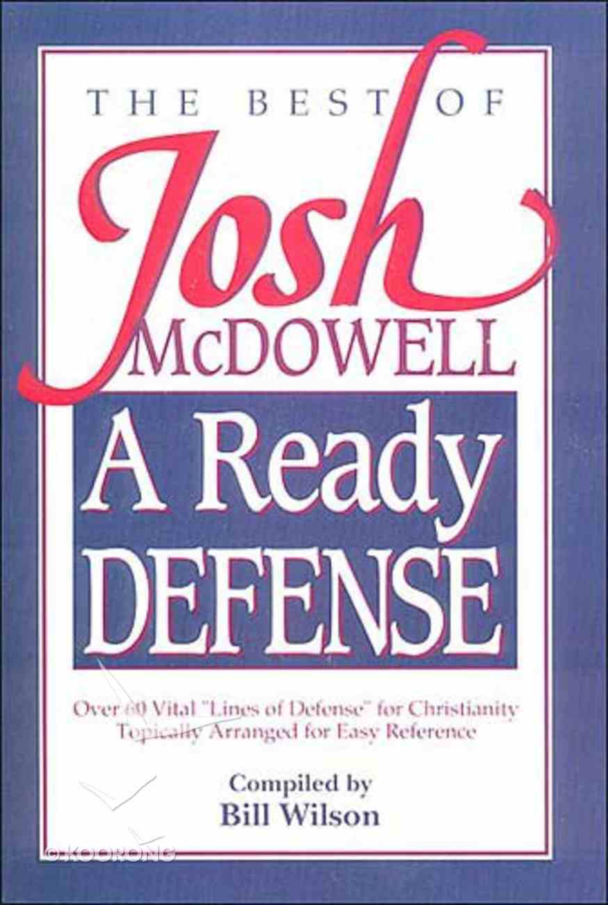 Ready Defense Paperback