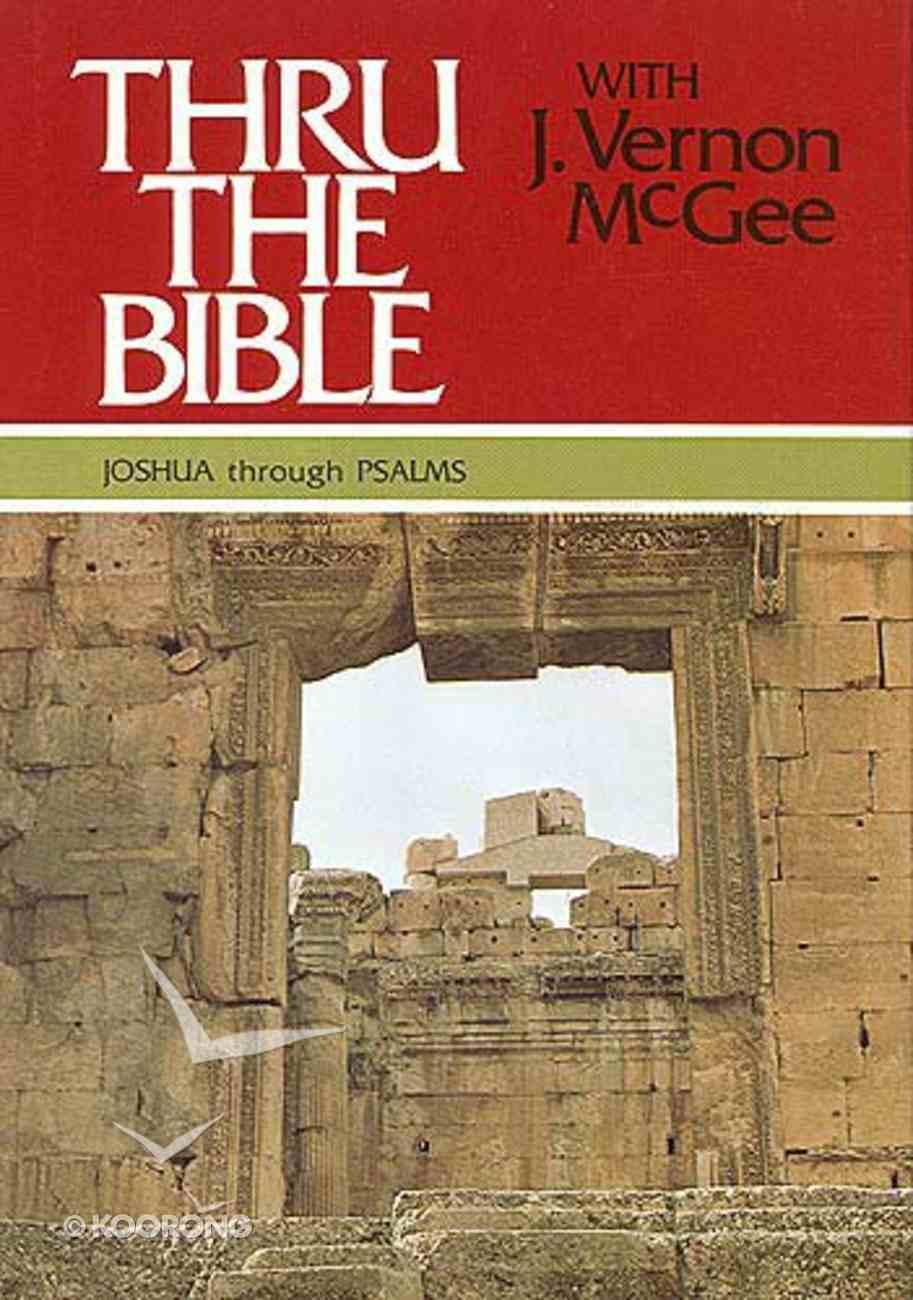 Joshua-Psalms (Volume 2) (Thou The Bible Set Series) Hardback