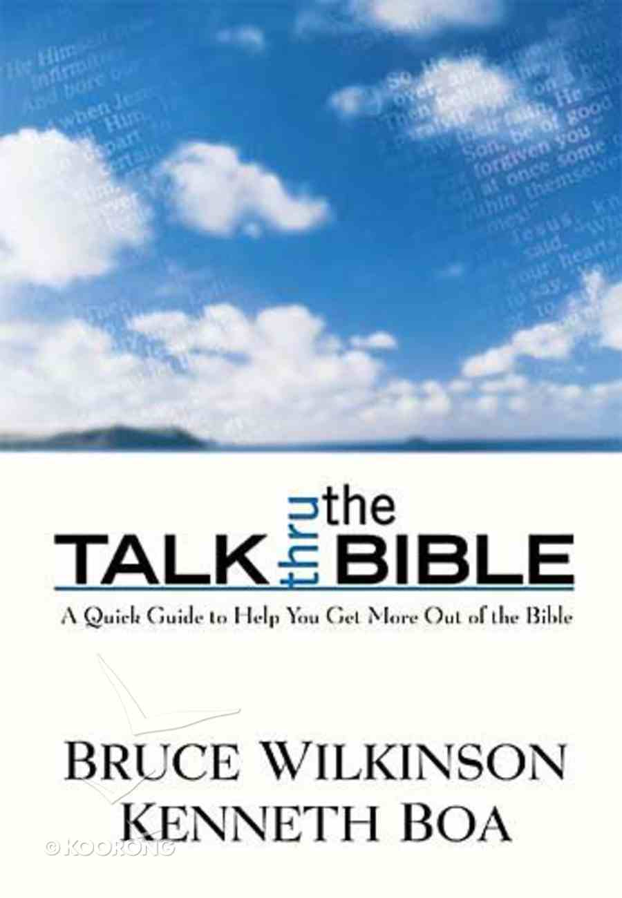 Talk Thru the Bible Hardback