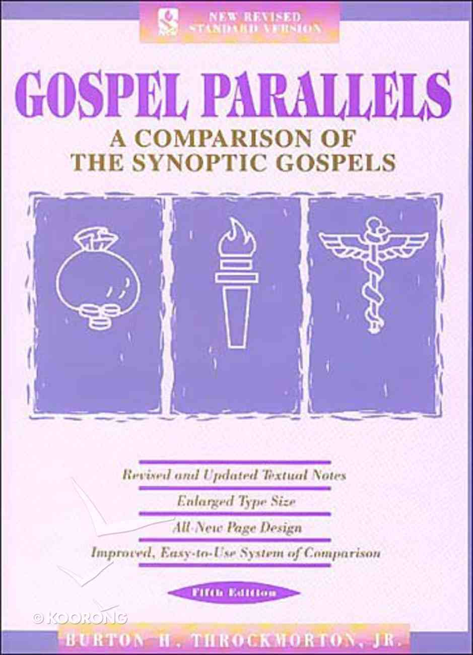 NRSV Gospel Parallels: A Comparison of the Synoptic Gospels (5th Edition) Hardback