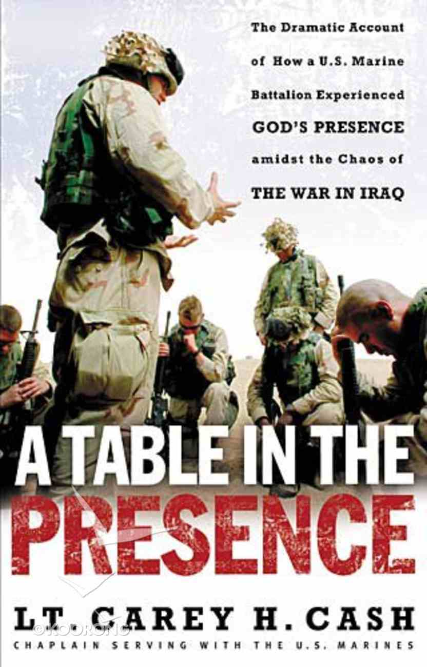 A Table in the Presence Paperback