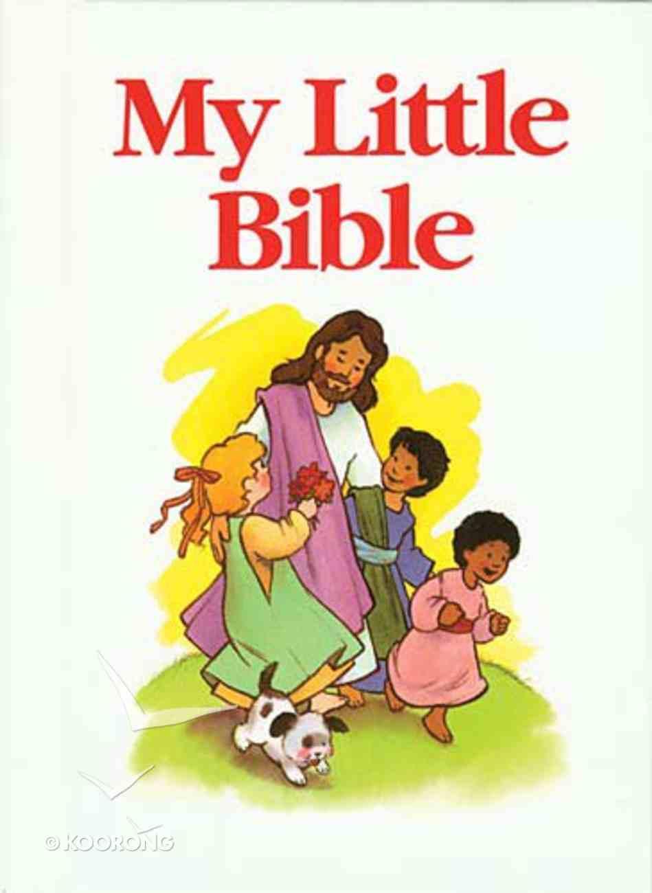 My Little Bible White Hardback