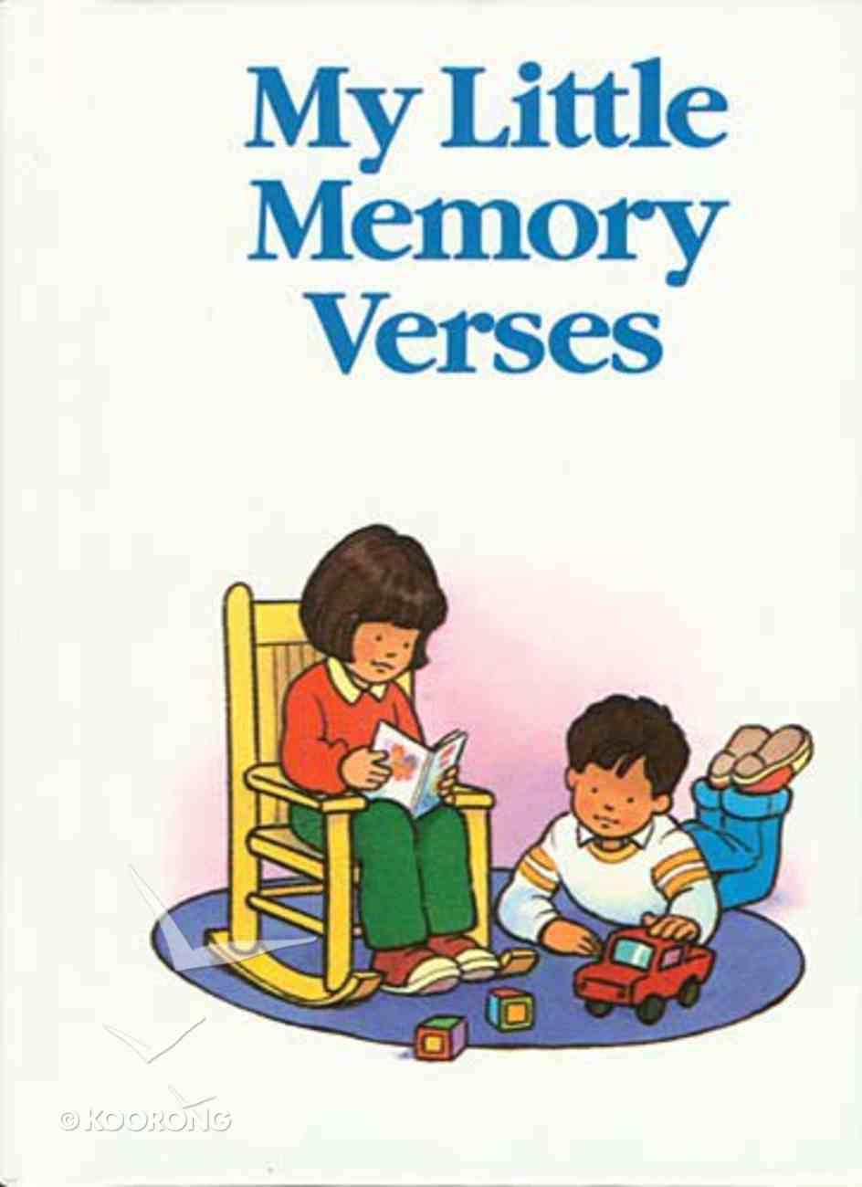 My Little Memory Verses Hardback