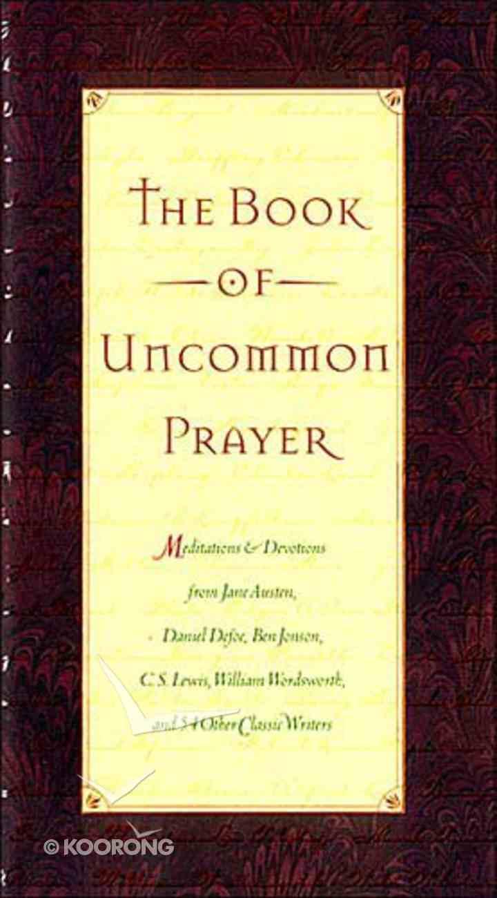 The Book of Uncommon Prayer Hardback