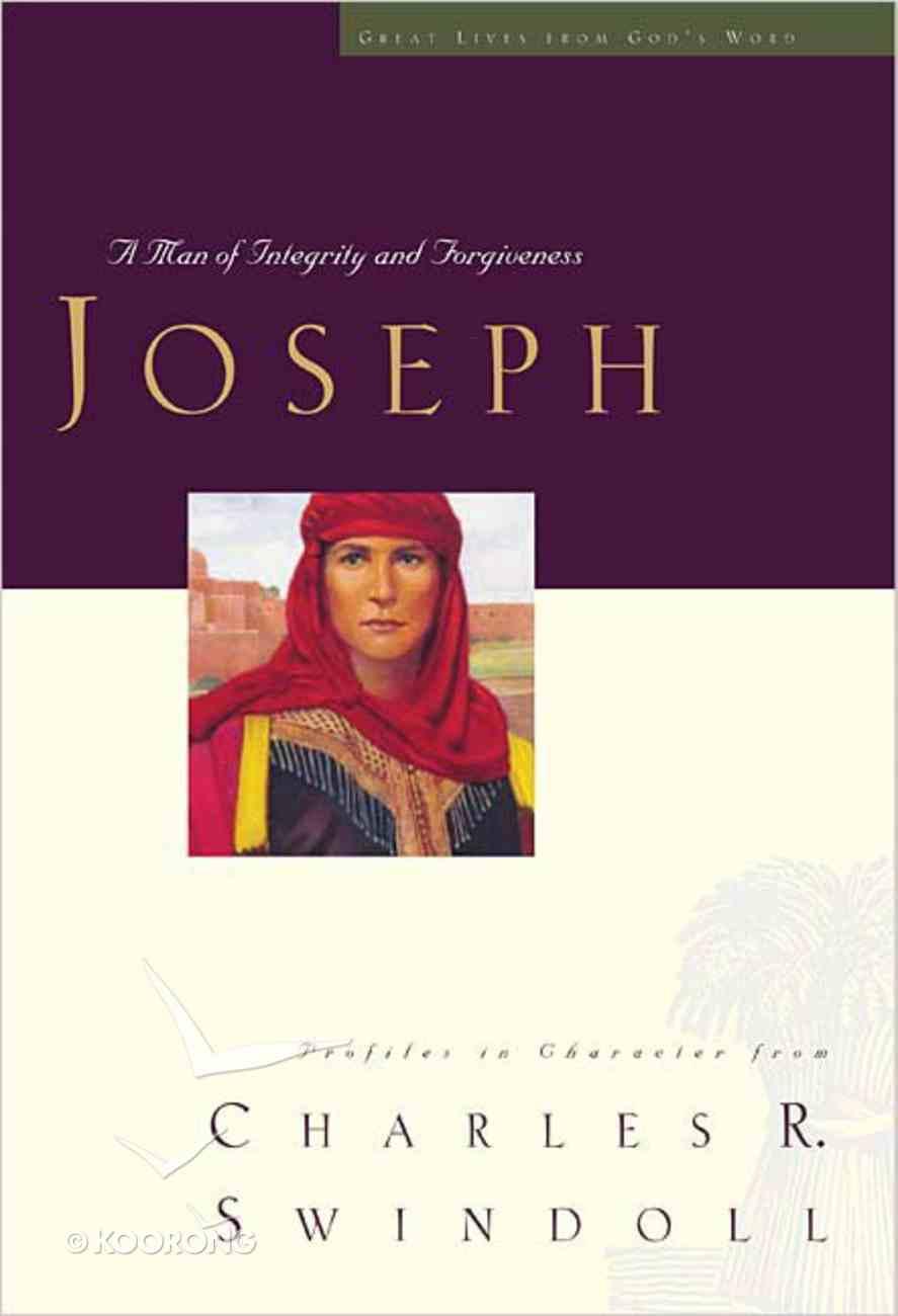 Joseph (Great Lives From God's Word Series) Hardback