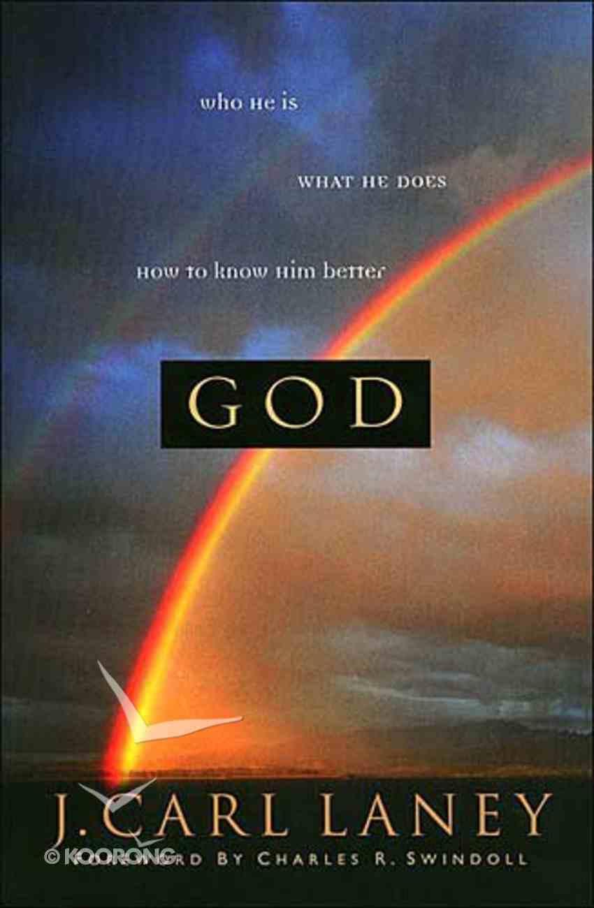 God (Swindoll Leadership Library Series) Hardback