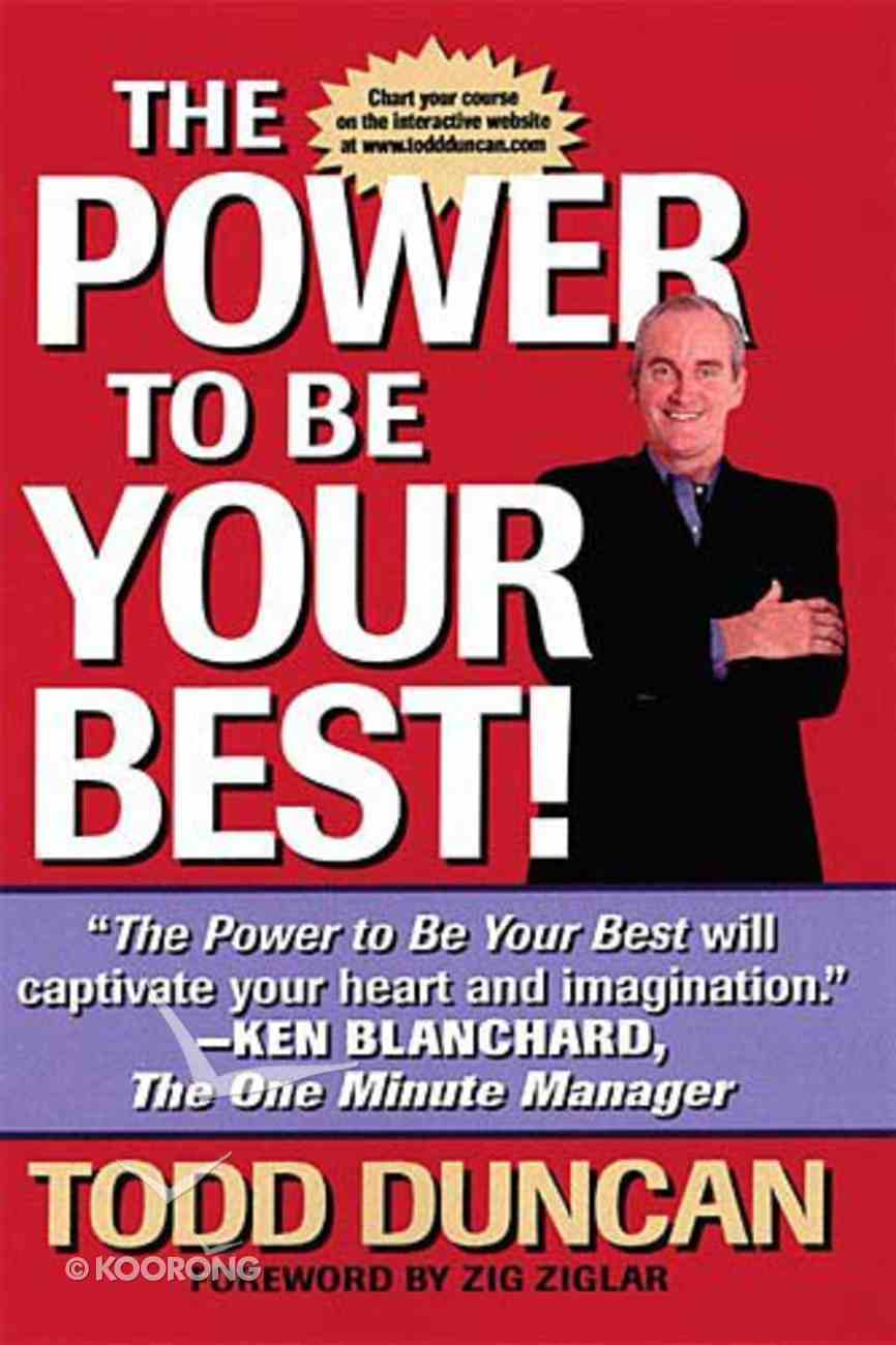 Power to Be Your Best Hardback