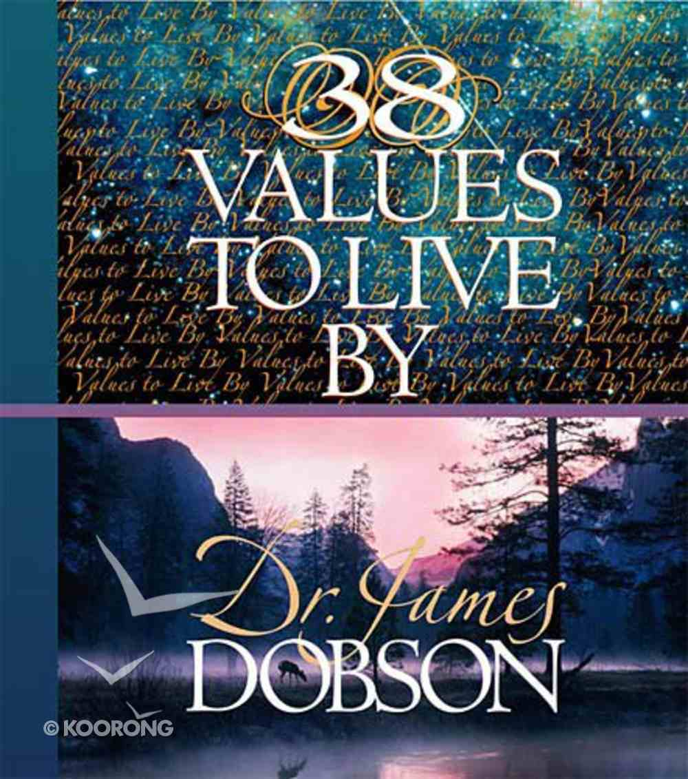 38 Values to Live By Hardback