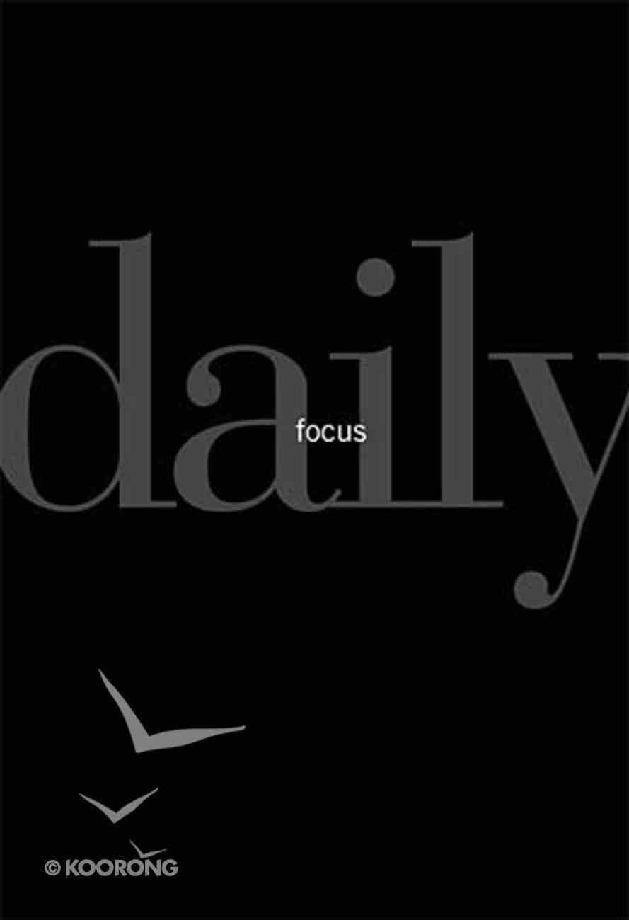 Daily Focus Hardback