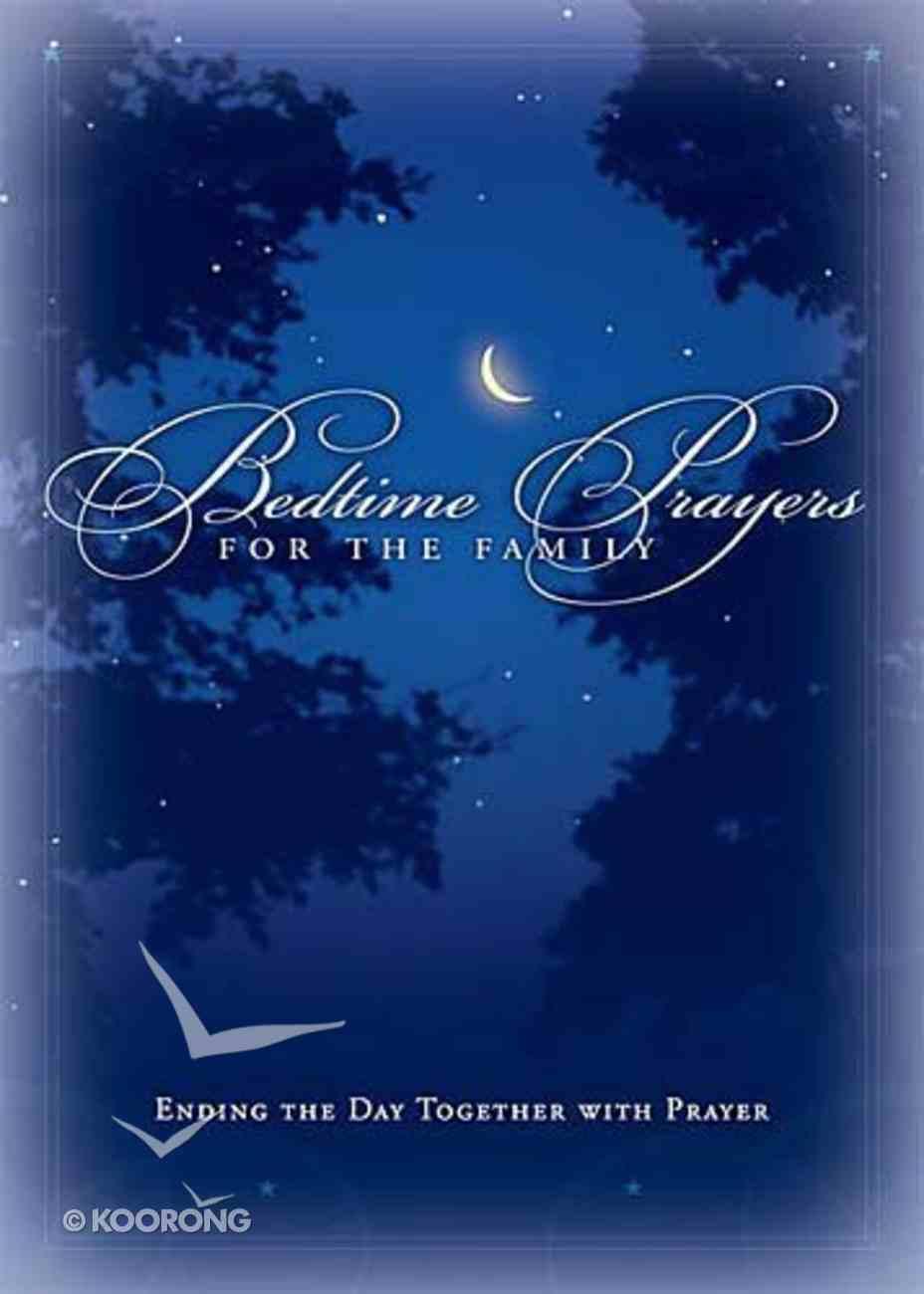 Bedtime Prayers For the Family Hardback
