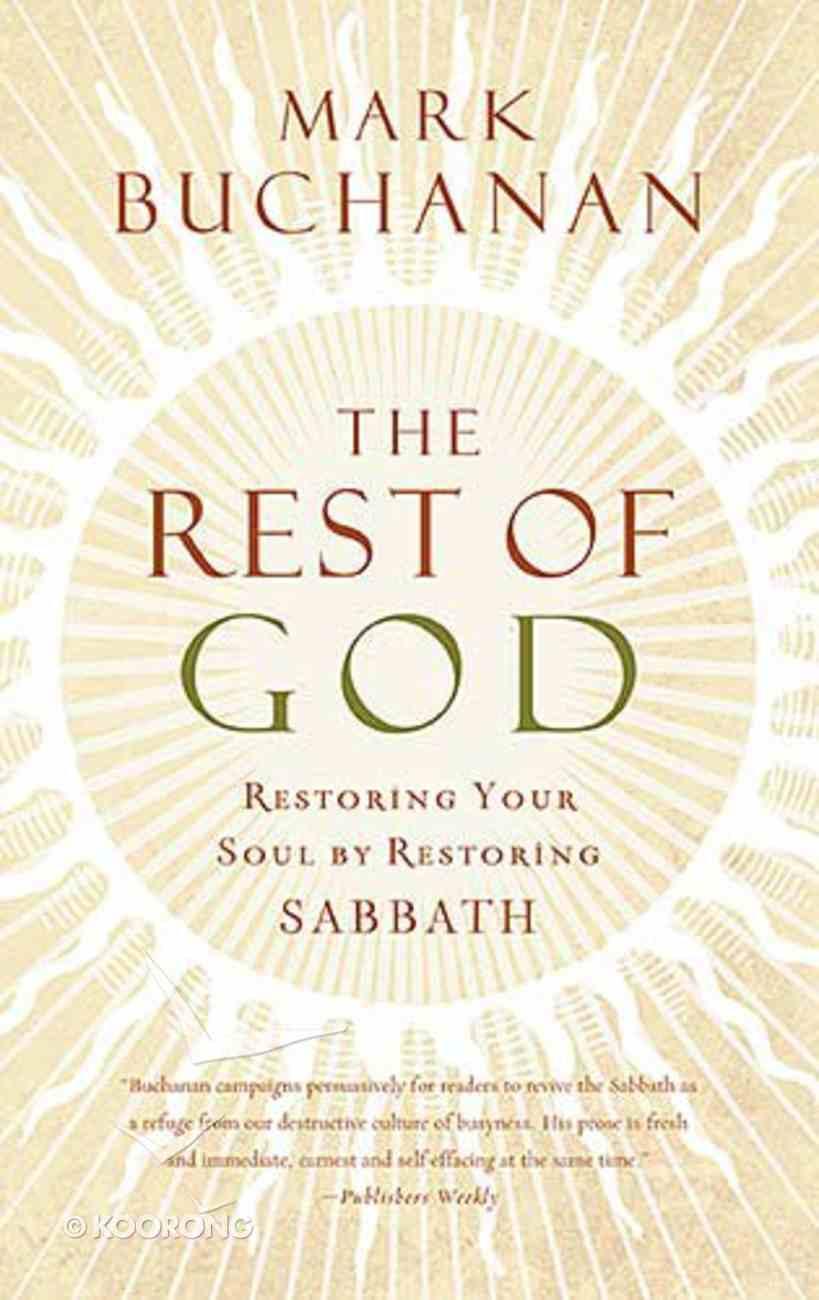 The Rest of God Paperback