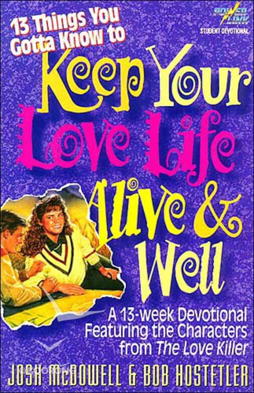 13 Things You Gotta Know..Keep Love Paperback