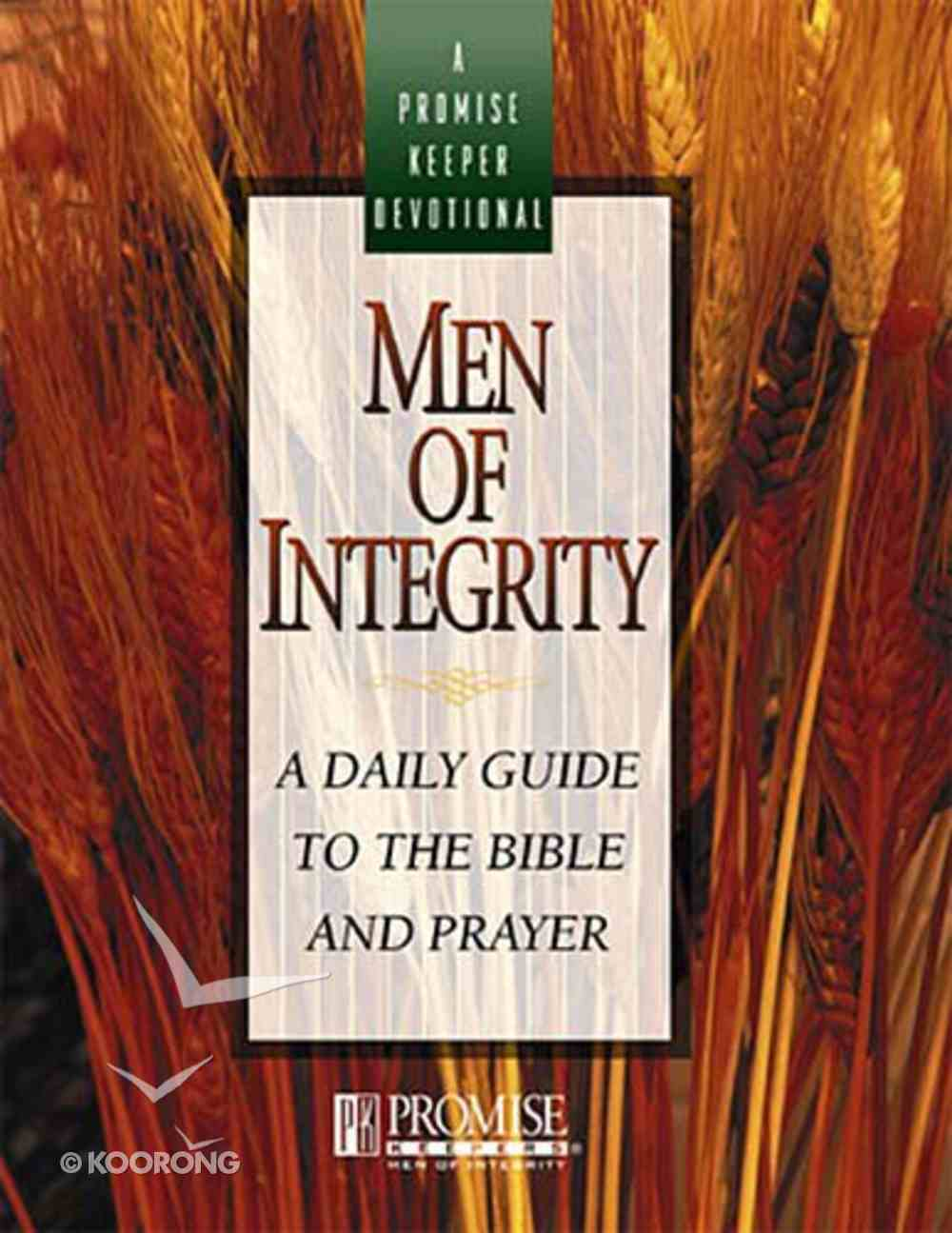 Promise Keepers Devotional: Men of Integrity Paperback
