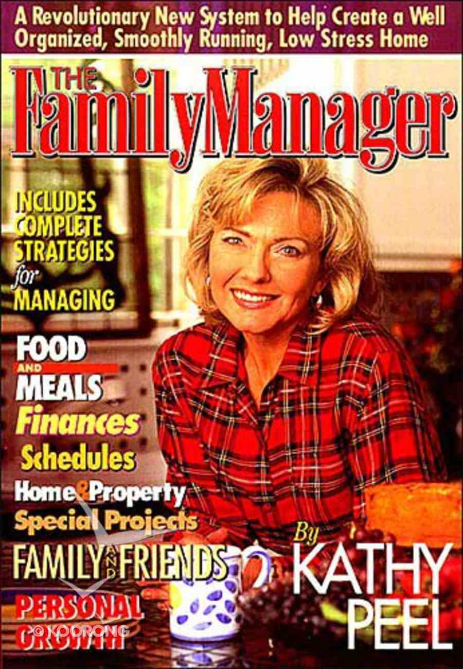Family Manager Paperback