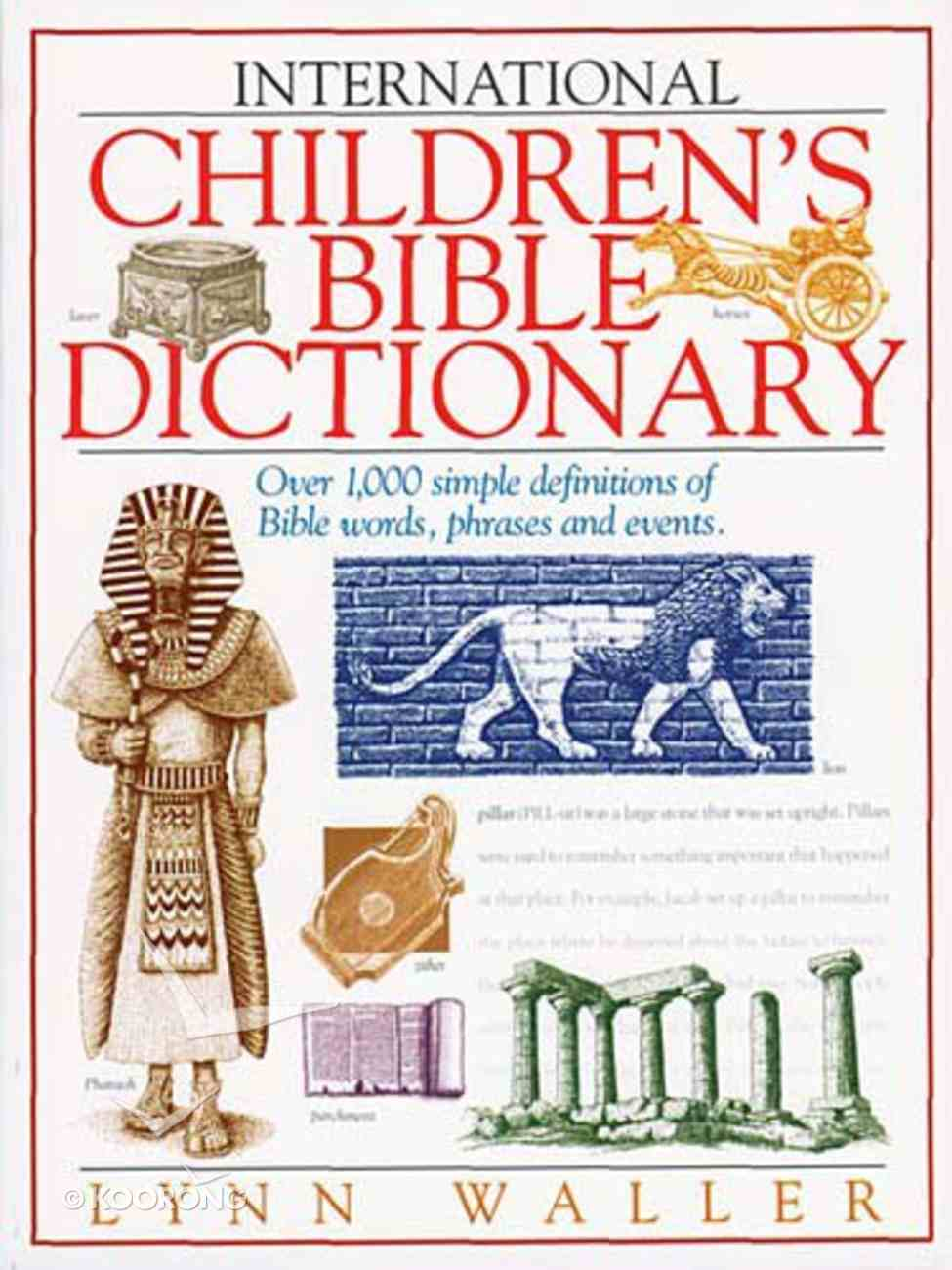 ICB: Dictionary Paperback