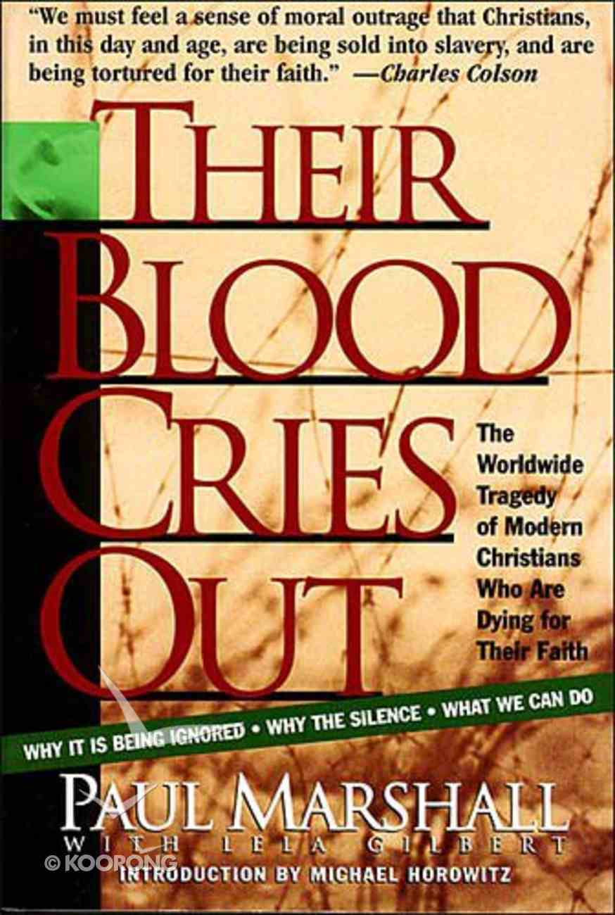 Their Blood Cries Out Paperback