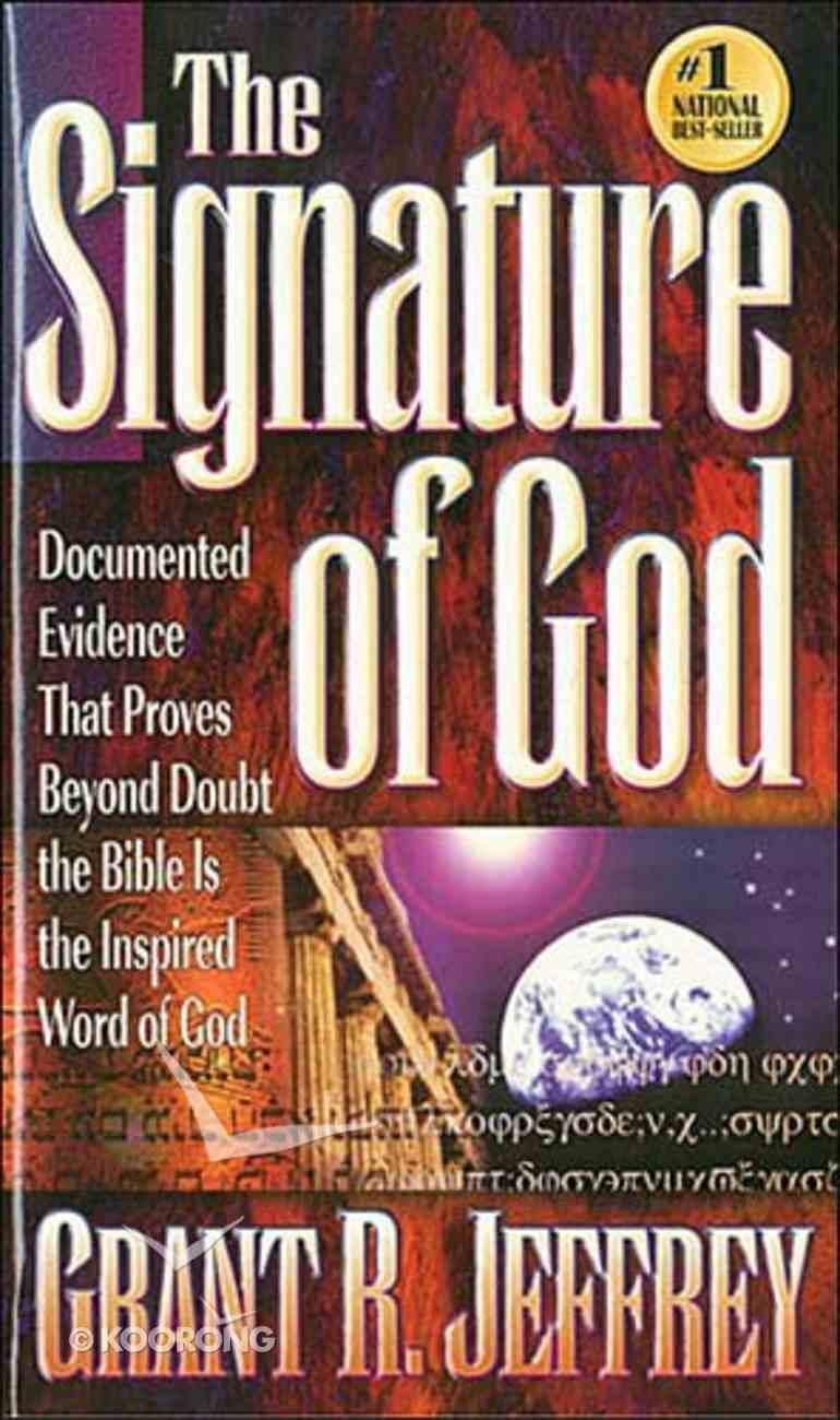 The Signature of God Mass Market