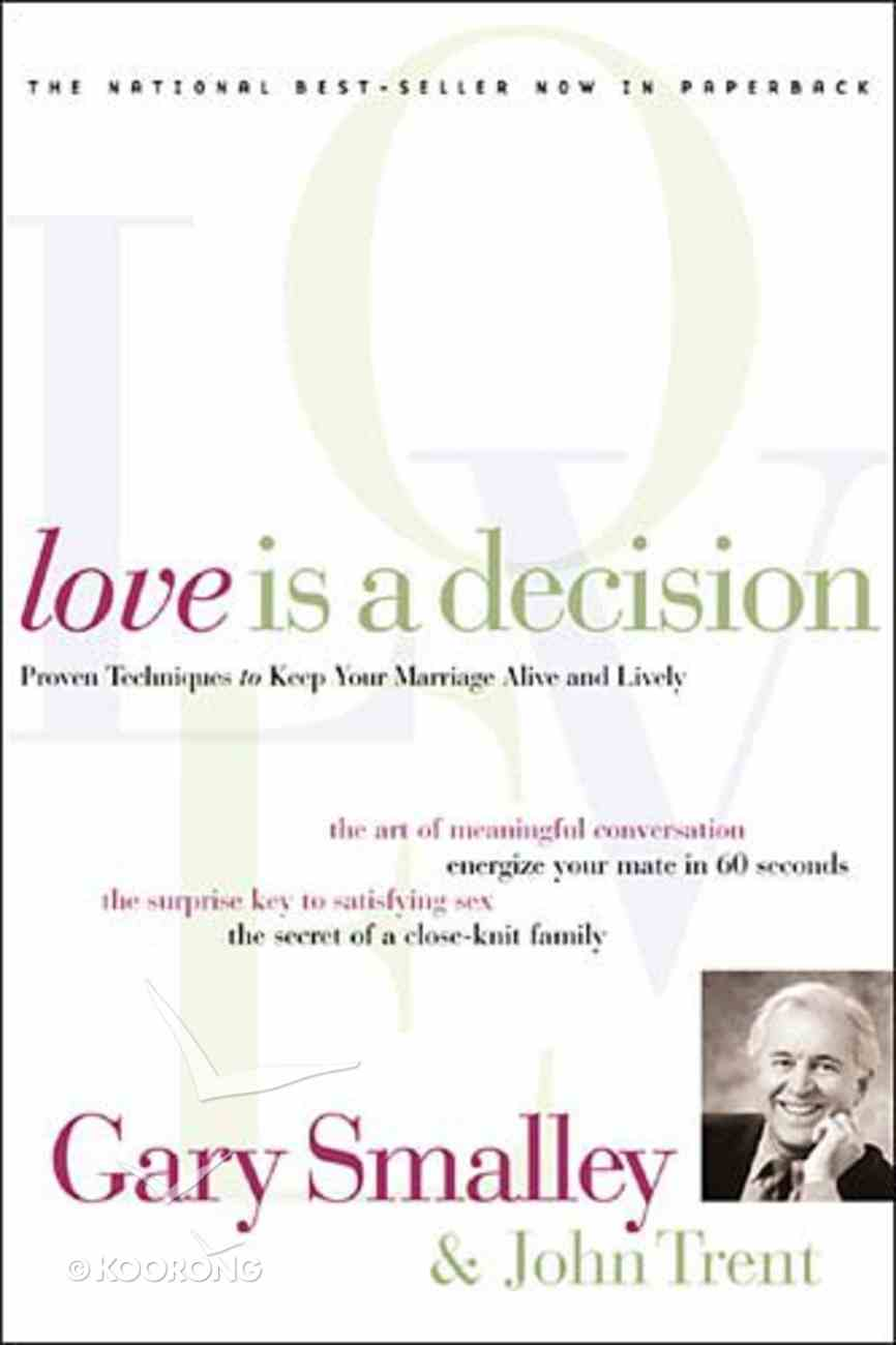 Love is a Decision Paperback