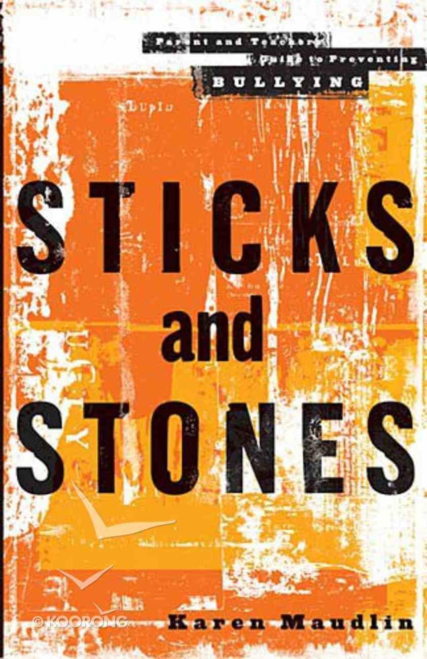 Sticks and Stones Paperback