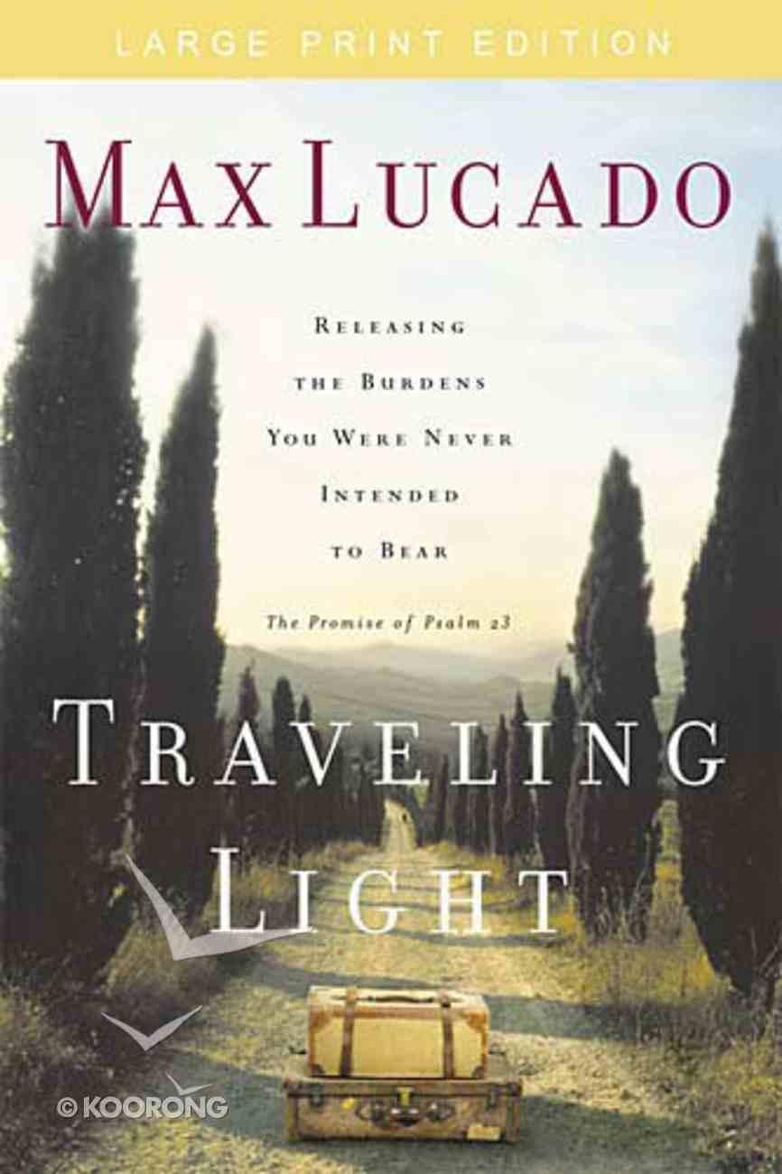Traveling Light (Large Print) Paperback