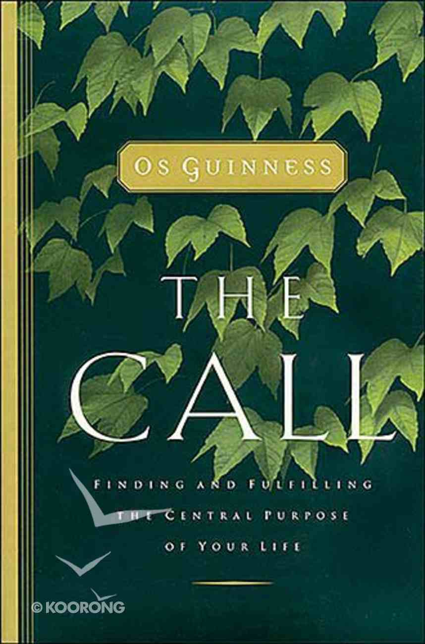 The Call (Includes Workbook) Paperback