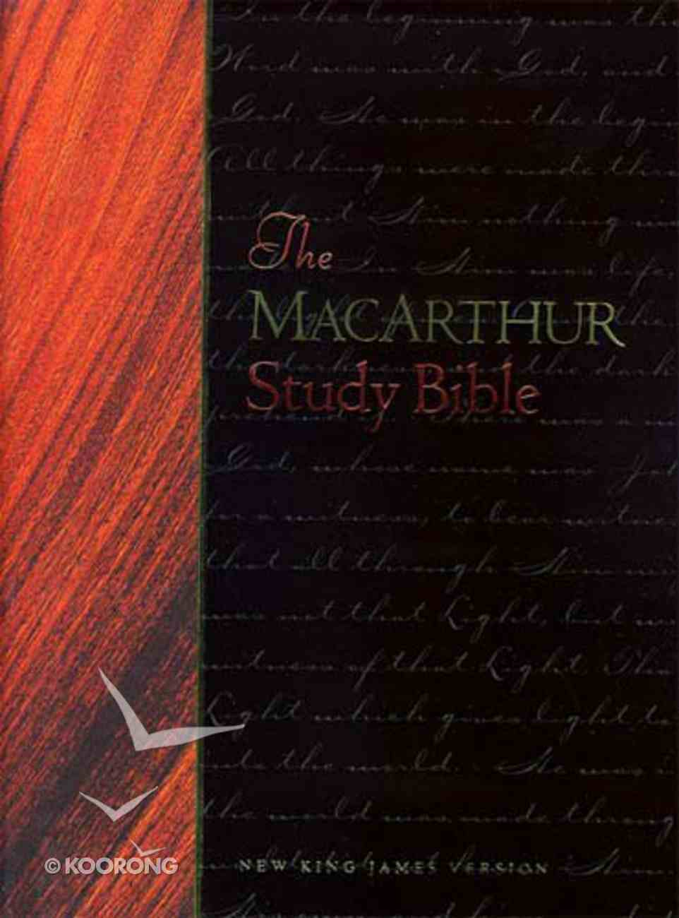 Macarthur Study Bible NKJV CDROM CD-rom