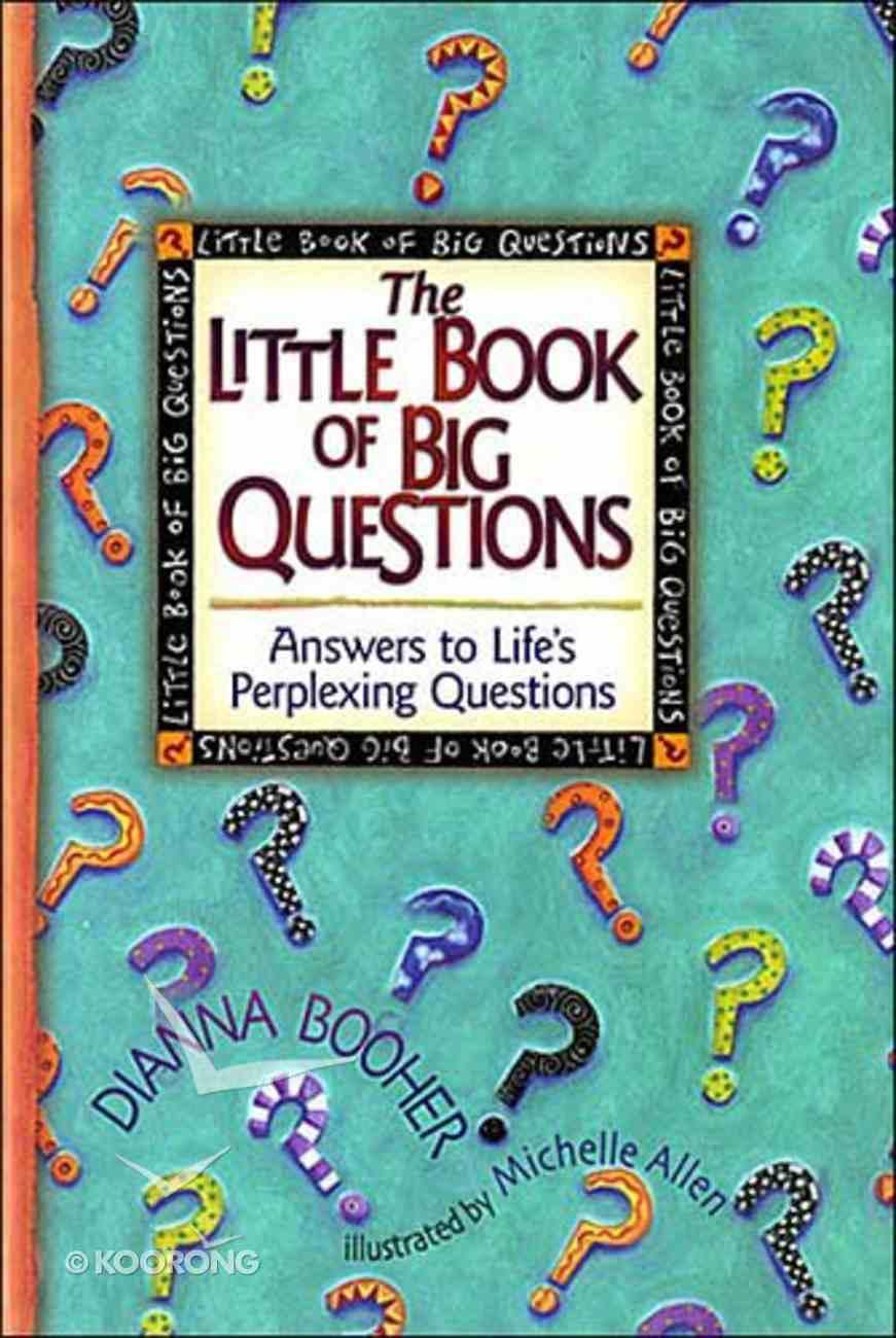 Little Book of Big Questions Hardback