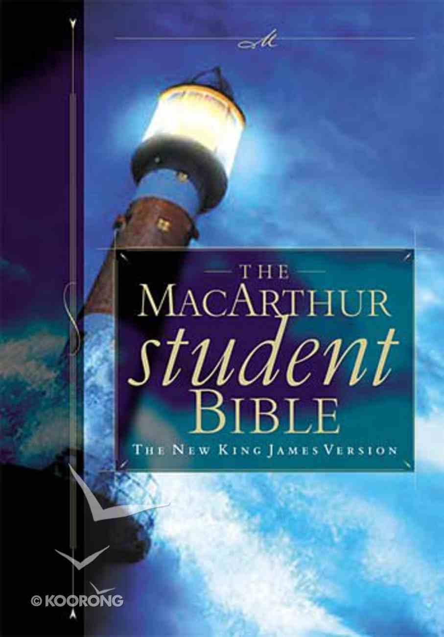 NKJV Macarthur Student Bible Hardback