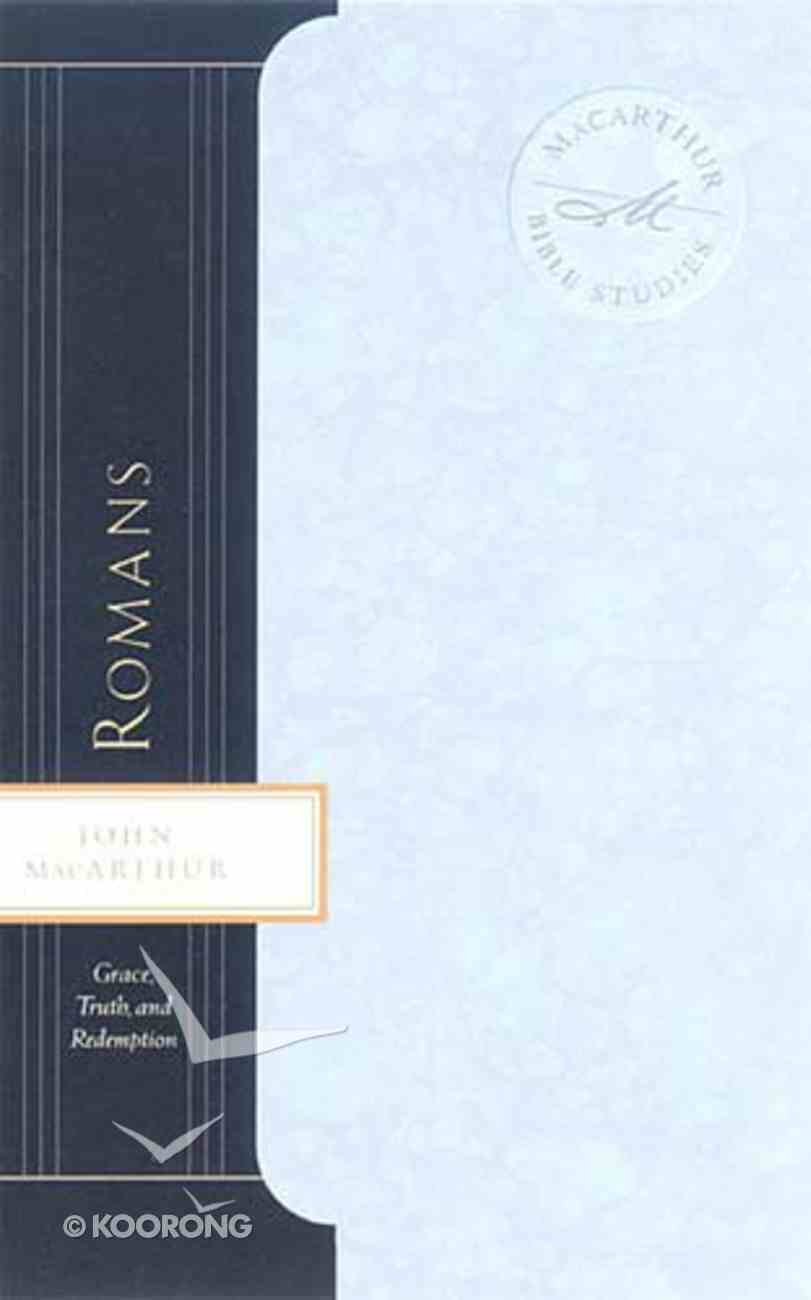 Romans (Macarthur Bible Study Series) Paperback