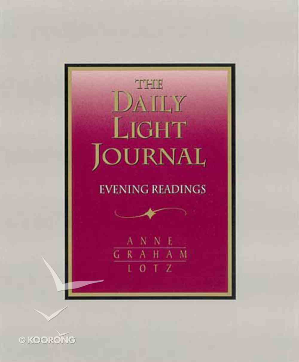 The Daily Light Journal Bonded Leather