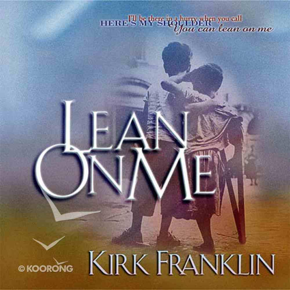 Lean on Me (Book And Cd Single) Hardback