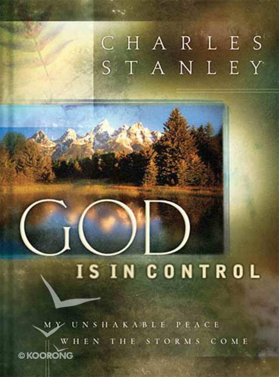 God is in Control Hardback