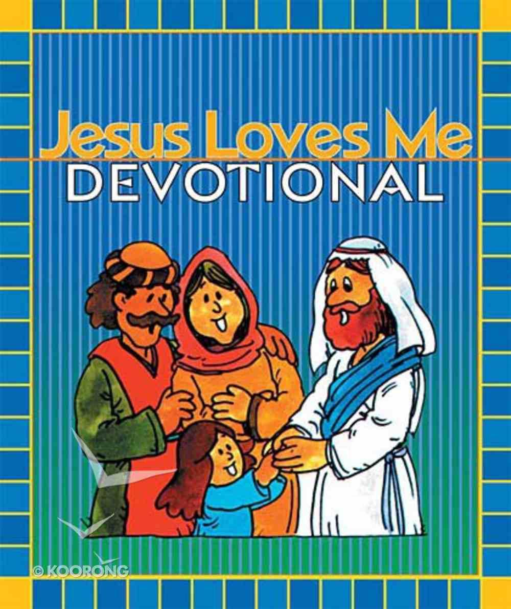 Jesus Loves Me Devotional Hardback