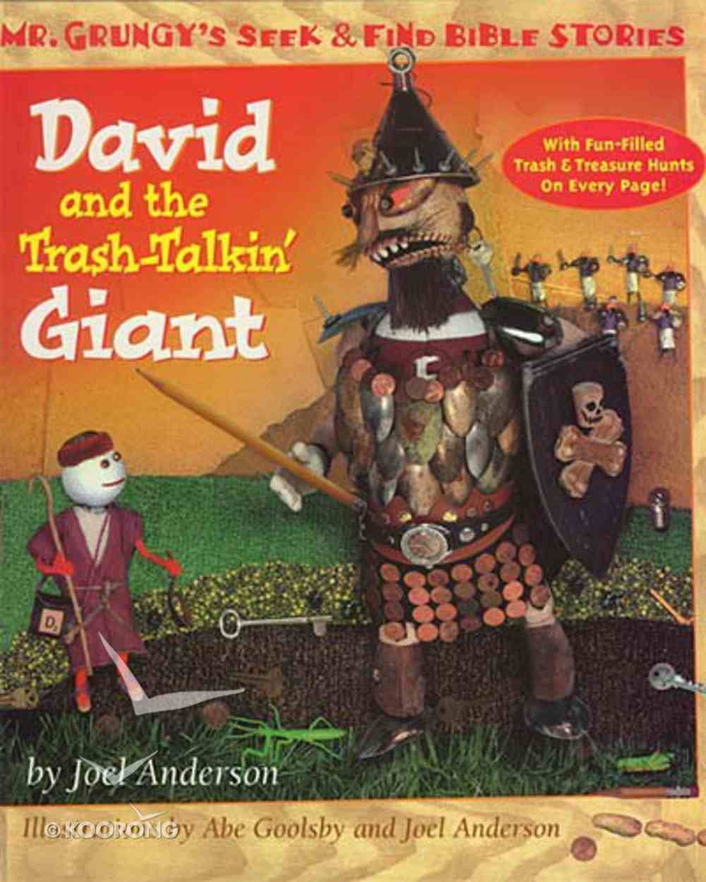 David and the Trash-Talkin Giant Hardback