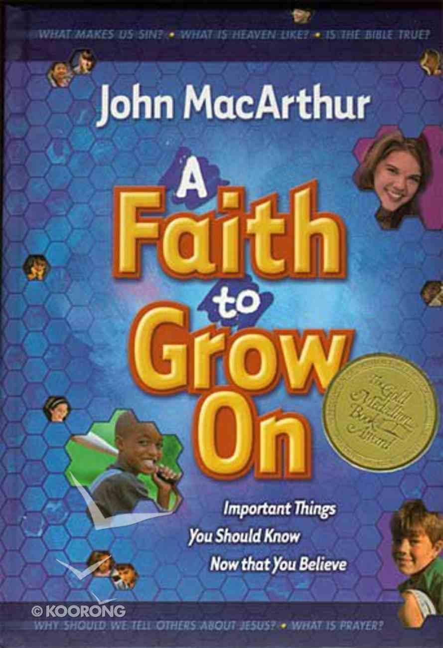A Faith to Grow on Hardback