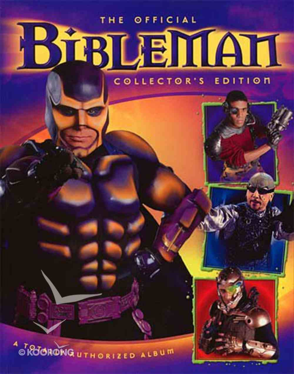 Bibleman Fan Book Paperback