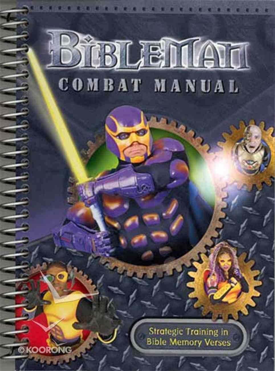 Bibleman Combat Manual Spiral