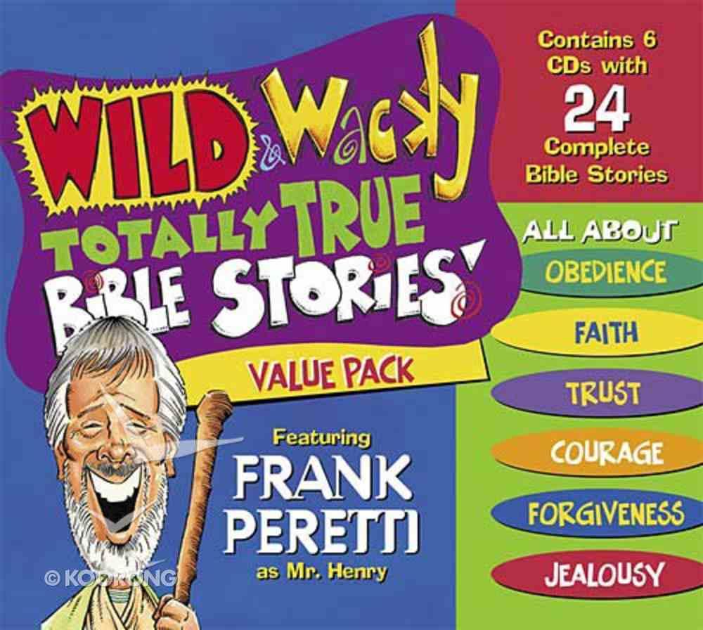 Wild & Wacky: (Pack 6) (Wild & Wacky Totally True Bible Stories Series) CD