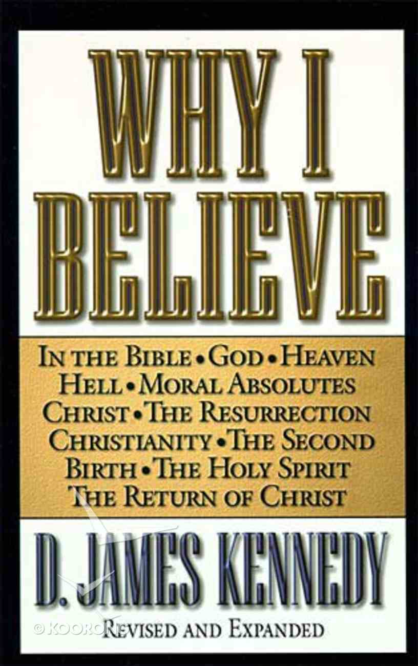 Why I Believe (Student Guide) (Es Lesson Plan Series) Paperback